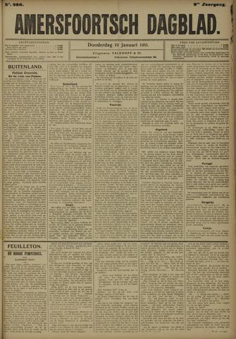 Amersfoortsch Dagblad 1911-01-19