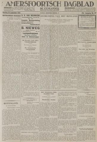 Amersfoortsch Dagblad / De Eemlander 1928-09-18