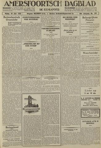 Amersfoortsch Dagblad / De Eemlander 1932-06-10