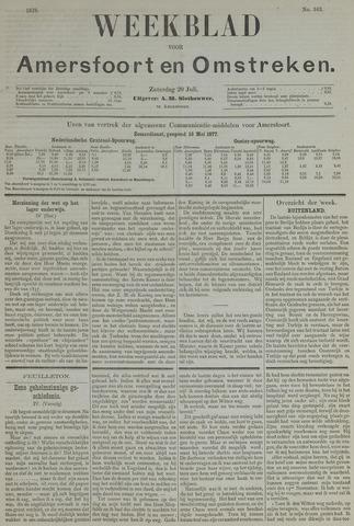 Weekblad voor Amersfoort en Omstreken 1878-07-20