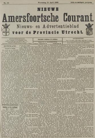 Nieuwe Amersfoortsche Courant 1909-04-21