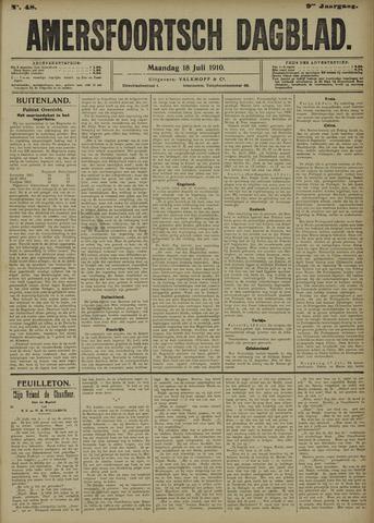 Amersfoortsch Dagblad 1910-07-18