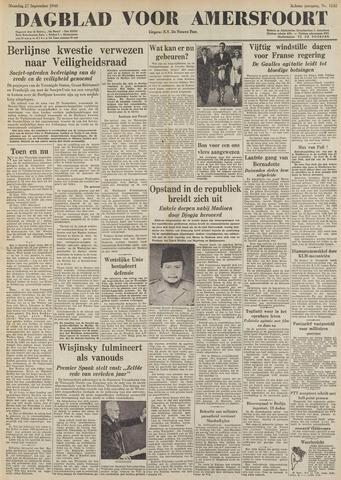Dagblad voor Amersfoort 1948-09-27