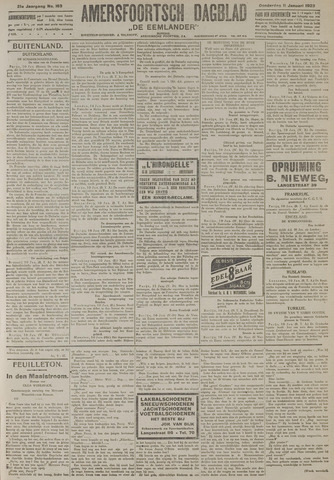 Amersfoortsch Dagblad / De Eemlander 1923-01-11