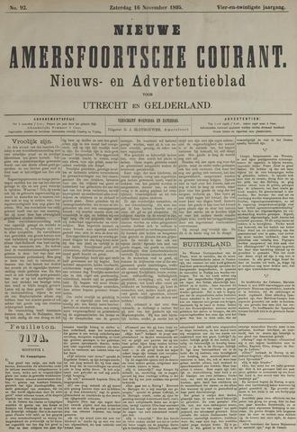 Nieuwe Amersfoortsche Courant 1895-11-16