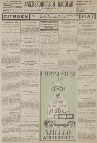 Amersfoortsch Dagblad / De Eemlander 1927-07-30