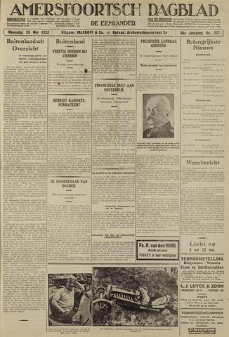 Amersfoortsch Dagblad / De Eemlander 1932-05-25