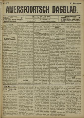 Amersfoortsch Dagblad 1905-04-10