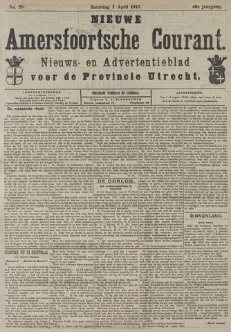 Nieuwe Amersfoortsche Courant 1917-04-07