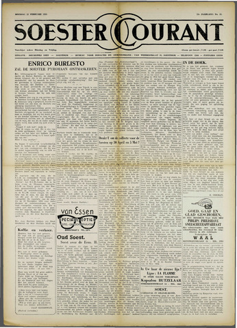 Soester Courant 1955-02-22