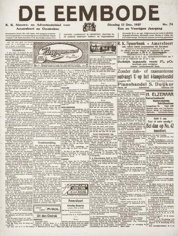 De Eembode 1927-12-13