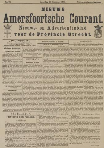 Nieuwe Amersfoortsche Courant 1905-11-18