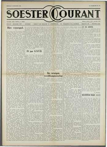 Soester Courant 1959-08-11