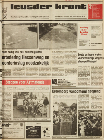 Leusder Krant 1985-08-08