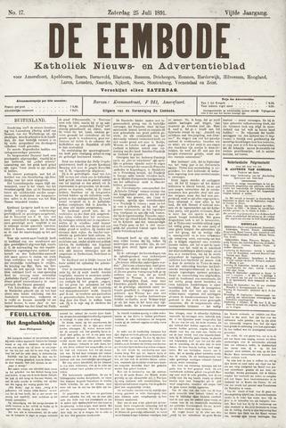 De Eembode 1891-07-25
