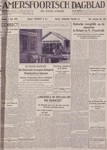 Amersfoortsch Dagblad / De Eemlander 1940-06-04