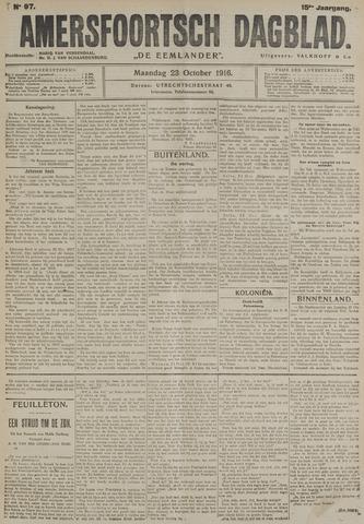 Amersfoortsch Dagblad / De Eemlander 1916-10-23