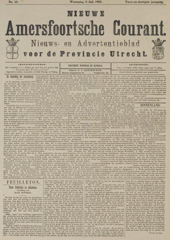 Nieuwe Amersfoortsche Courant 1903-07-08