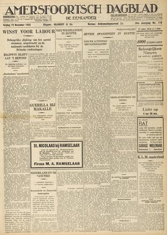 Amersfoortsch Dagblad / De Eemlander 1935-11-15