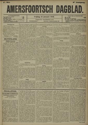 Amersfoortsch Dagblad 1908-01-10