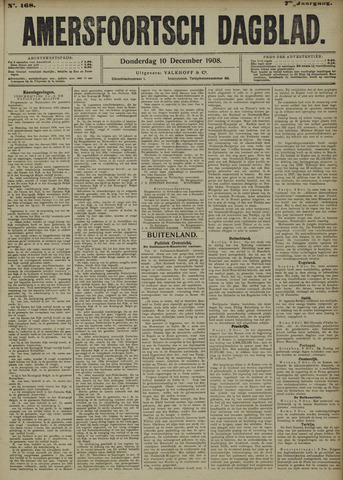 Amersfoortsch Dagblad 1908-12-10