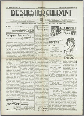 Soester Courant 1934-11-09