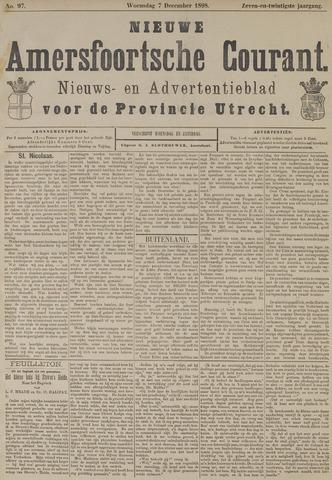 Nieuwe Amersfoortsche Courant 1898-12-07