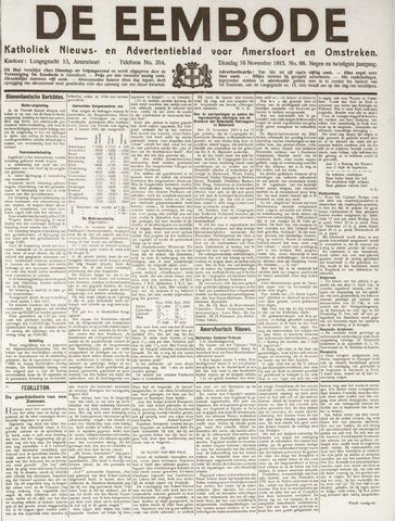 De Eembode 1915-11-16