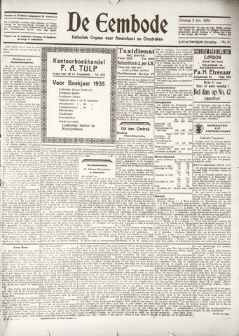 De Eembode 1935-01-08