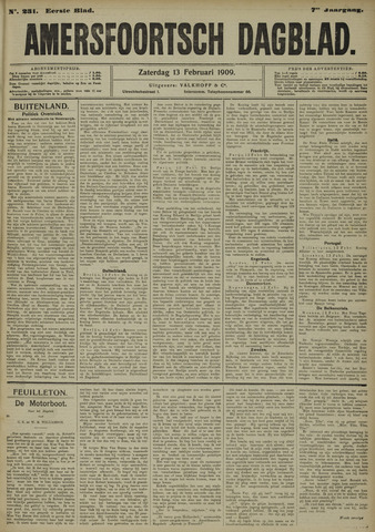 Amersfoortsch Dagblad 1909-02-13