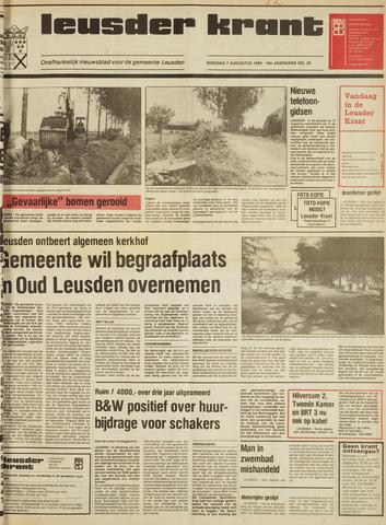 Leusder Krant 1984-08-07