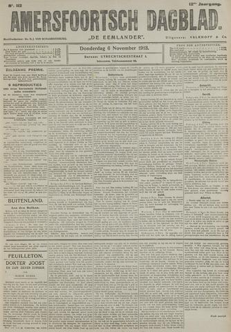Amersfoortsch Dagblad / De Eemlander 1913-11-06