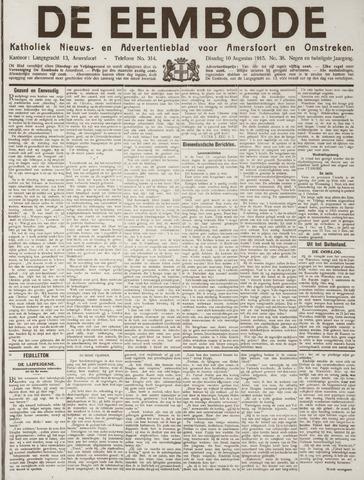 De Eembode 1915-08-10