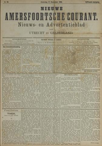 Nieuwe Amersfoortsche Courant 1886-11-27