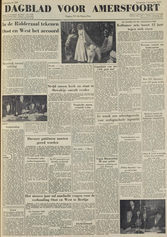 Dagblad voor Amersfoort 1949-11-03