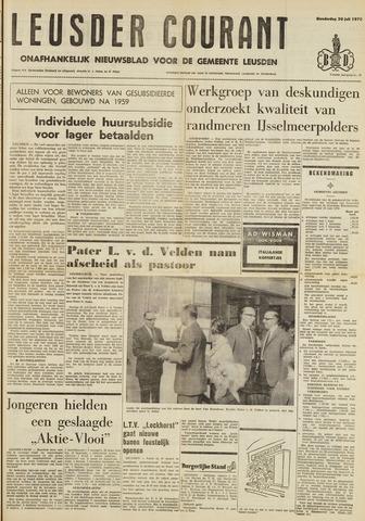 Leusder Krant 1970-07-30