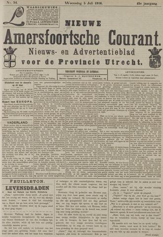 Nieuwe Amersfoortsche Courant 1916-07-05