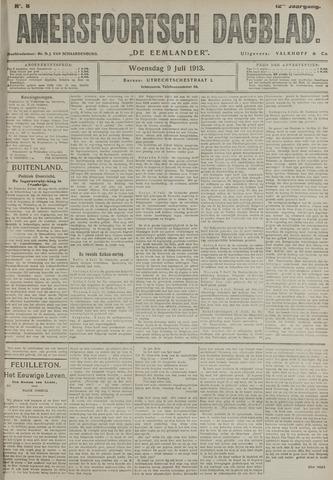 Amersfoortsch Dagblad / De Eemlander 1913-07-09