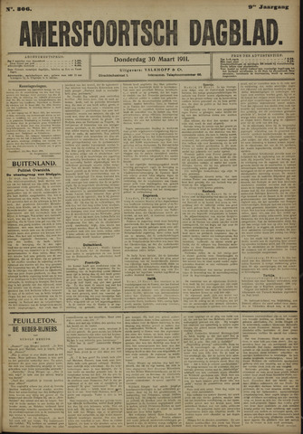 Amersfoortsch Dagblad 1911-03-30