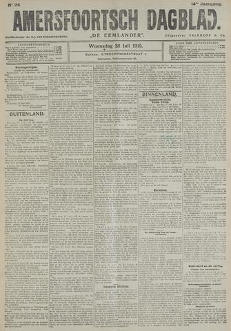 Amersfoortsch Dagblad / De Eemlander 1915-07-28