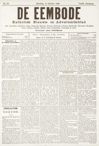 De Eembode 1890-10-18