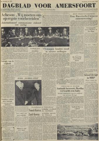 Dagblad voor Amersfoort 1950-11-30