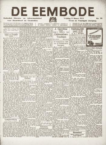 De Eembode 1929-03-08