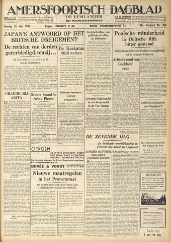 Amersfoortsch Dagblad / De Eemlander 1939-06-20