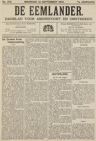 De Eemlander 1910-09-12