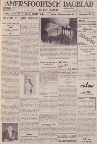 Amersfoortsch Dagblad / De Eemlander 1935-01-07