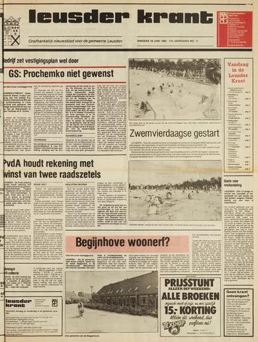 Leusder Krant 1985-06-18