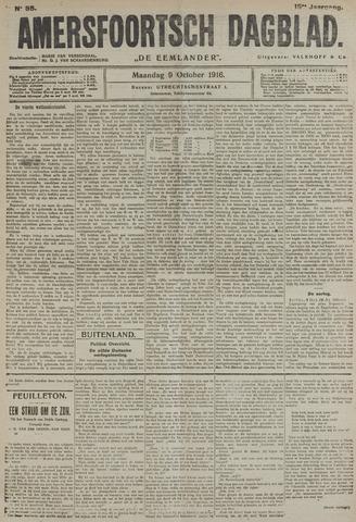 Amersfoortsch Dagblad / De Eemlander 1916-10-09