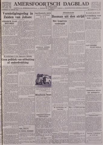 Amersfoortsch Dagblad / De Eemlander 1942-01-22