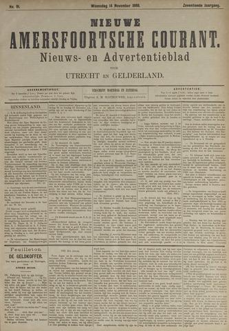 Nieuwe Amersfoortsche Courant 1888-11-14